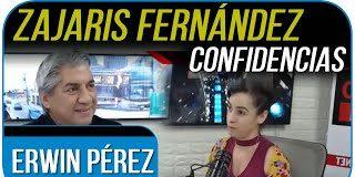 Comediante Zajaris Fernández entrevistada por Erwin Pérez