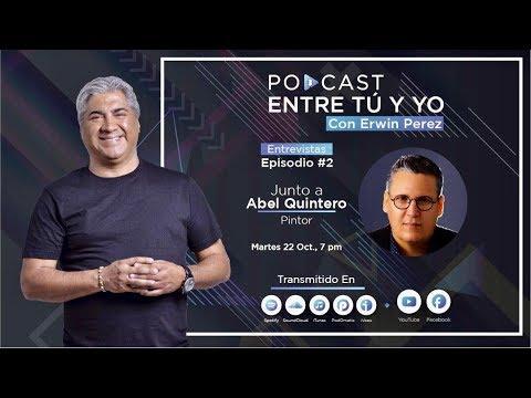 Pintor cubano Abel Quintero entrevistado Erwin Pérez