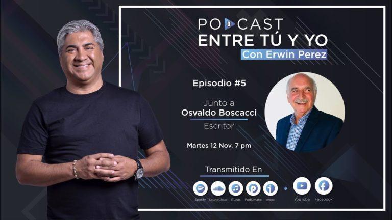 Erwin Pérez entrevista al escritor argentino Osvaldo Boscacci (2019)