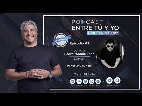 Erwin Pérez entrevista al escritor peruano Pedro Medina León